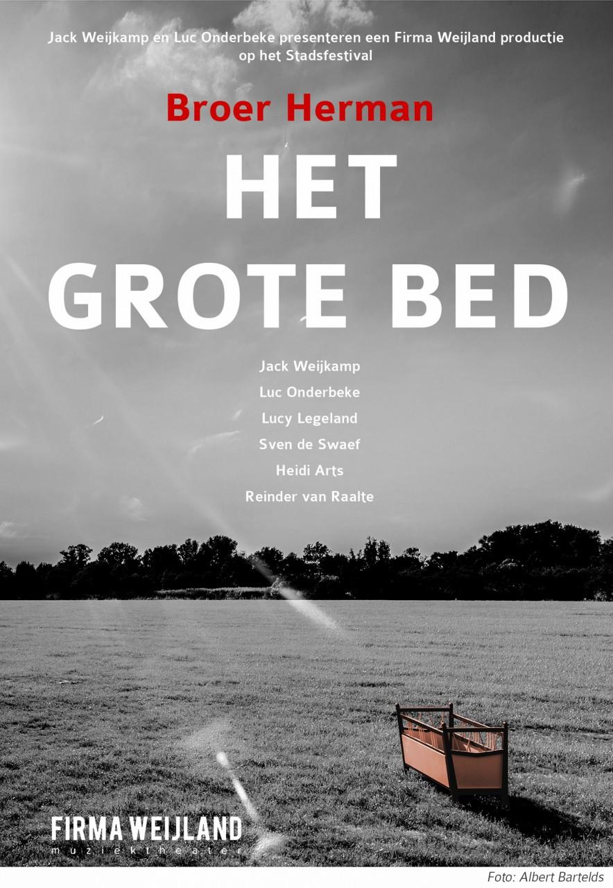 Broer Herman, het grote bed-1