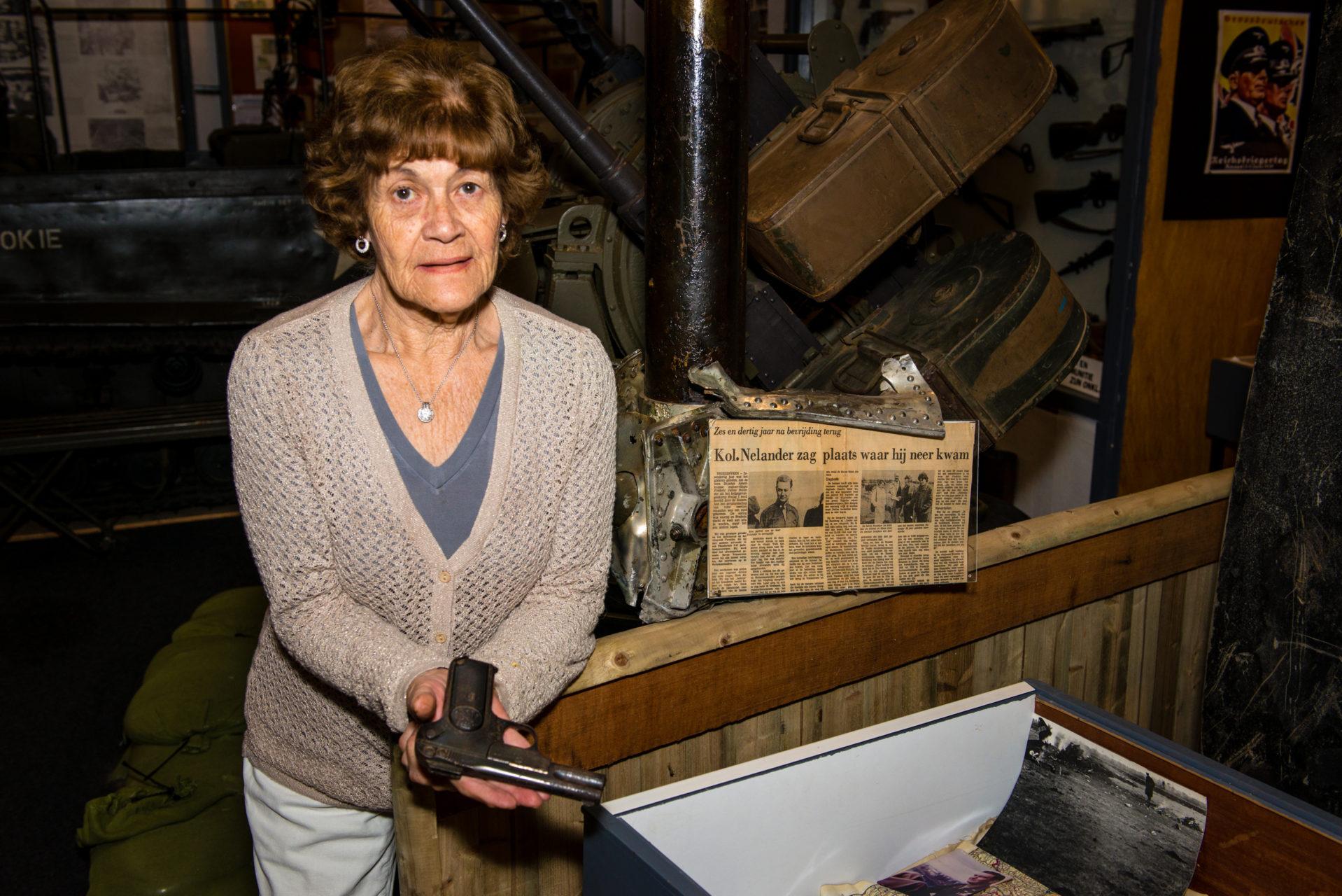 Trudie Abbink,  Twents Oorlogsmuseum Vriezenveen