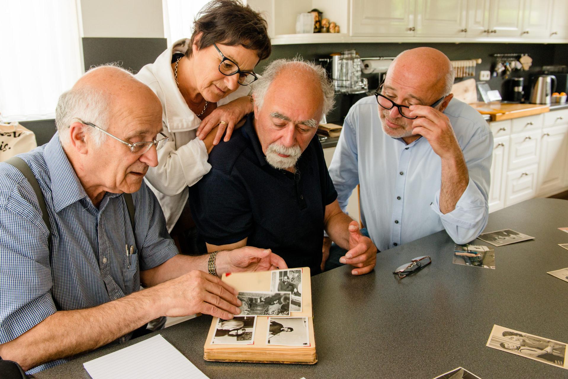 Selma Hoek & familie, Goor
